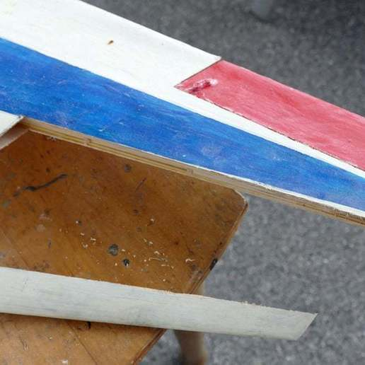 Ausklinken_B_01.jpg Download free STL file Leading-Edge Slats for Horten Wing Stiletto • 3D printer model, wersy