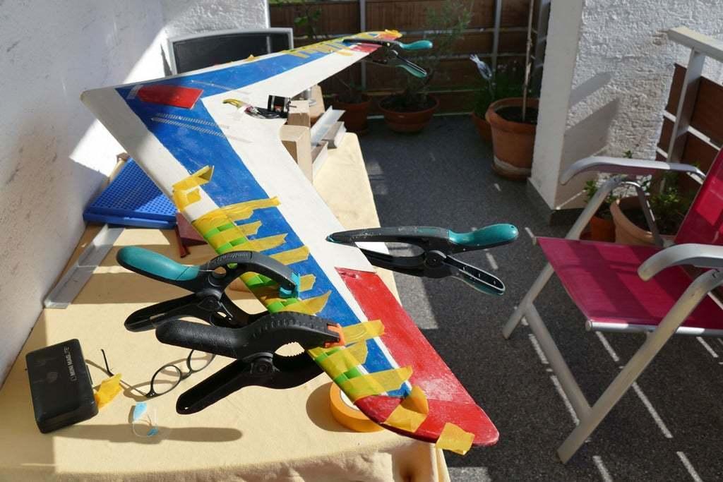 L1070160.jpg Download free STL file Leading-Edge Slats for Horten Wing Stiletto • 3D printer model, wersy