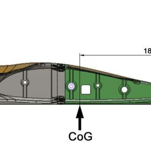 CG_Buratinu_1150.jpg Télécharger fichier STL gratuit Aile volante Buratinu 1150 • Design pour imprimante 3D, wersy