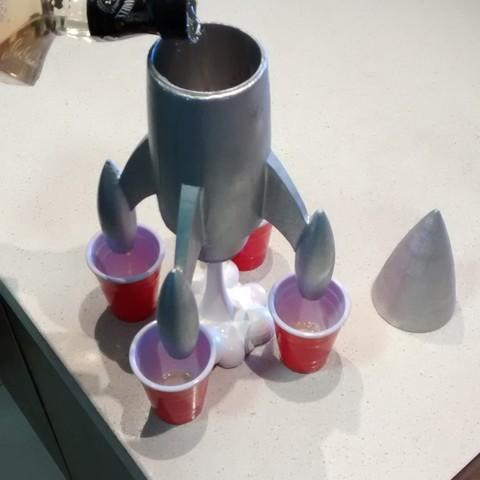 3D printer files Rocket Shot_er, cova321