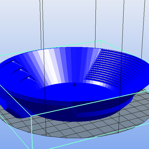 minipan_1.PNG Download free STL file mini gold pan • Template to 3D print, Yvius