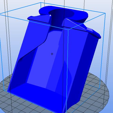 tiroir v3.PNG Download free STL file Drawer for Peugeot coffee grinder • 3D print model, Yvius