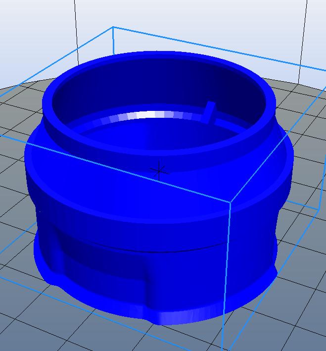 tremie v5.PNG Download free STL file Drawer for Peugeot coffee grinder • 3D print model, Yvius