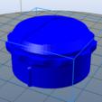 Télécharger plan imprimante 3D gatuit Bouton de four, Yvius