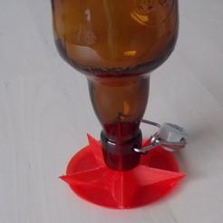 séchoir 1.JPG Télécharger fichier STL gratuit Séchoir à bouteille • Objet pour impression 3D, Yvius