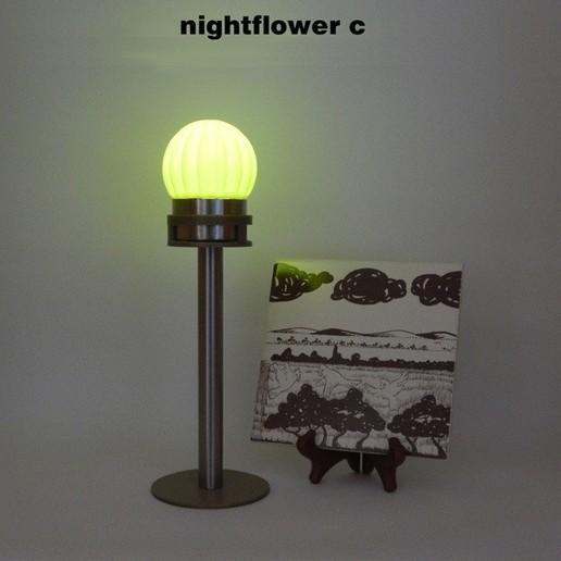 Télécharger fichier imprimante 3D gratuit Nightflower-c, djgeenen