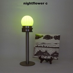 Nightflower-c2.jpg Download free STL file Nightflower-c • 3D print design, djgeenen