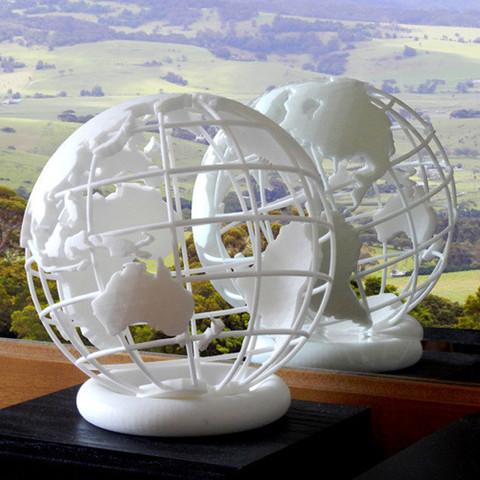 Download STL file Globe 3D printed • 3D print template, djgeenen