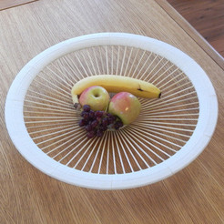 3D print files Fruit Bowl, djgeenen