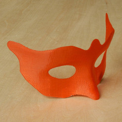 Mask1-Photo.jpg Download STL file Mask - small • 3D printing model, djgeenen