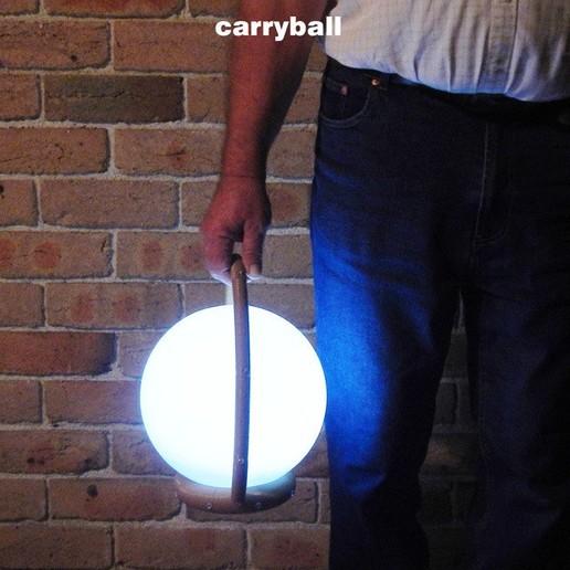 Carryball-4.jpg Download free STL file Carryball • Model to 3D print, djgeenen