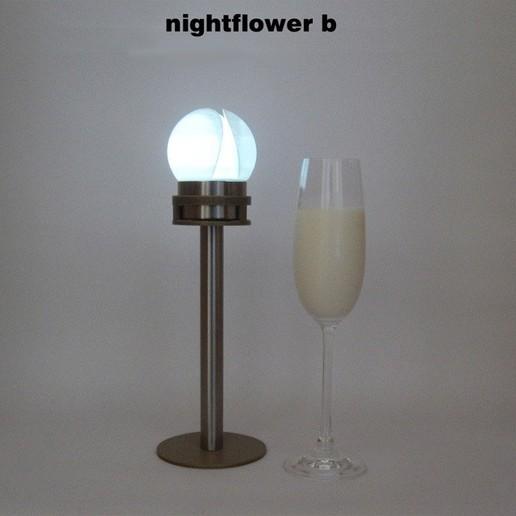 Télécharger fichier STL gratuit Nightflower-b, djgeenen