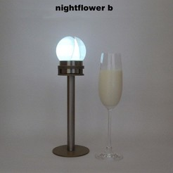 Nightflower-b2.jpg Download free STL file Nightflower-b • Model to 3D print, djgeenen