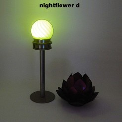Nightflower-d2.jpg Download free STL file Nightflower-d • 3D printer design, djgeenen