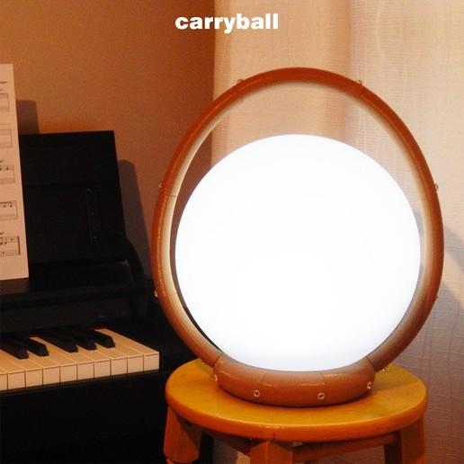 Carryball-2.jpg Download free STL file Carryball • Model to 3D print, djgeenen