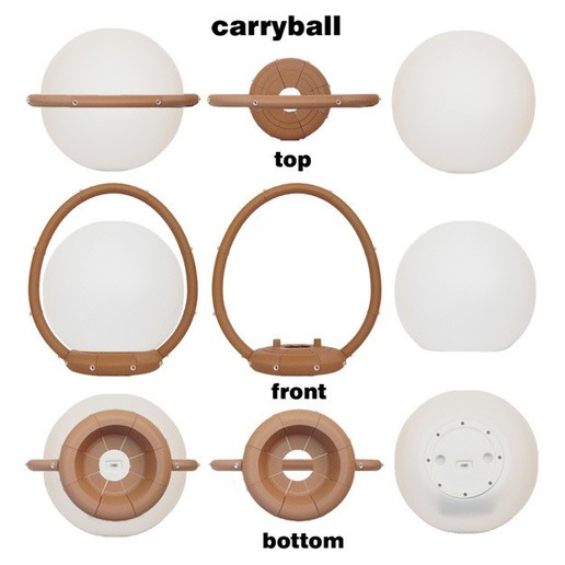 Carryball-5.jpg Download free STL file Carryball • Model to 3D print, djgeenen
