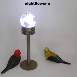 Nightflower-e2.jpg Download free STL file Nightflower-e • 3D printing design, djgeenen