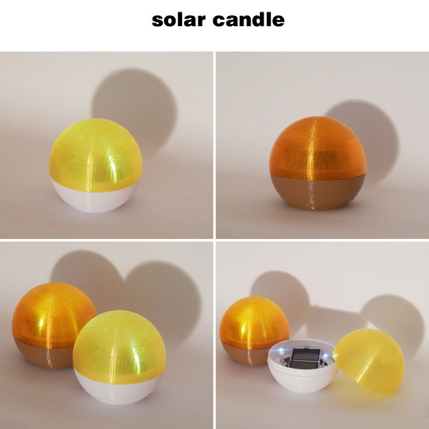SolarCandle-8.jpg Download free STL file Solar Candle • 3D printable design, djgeenen
