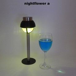 NightFlowers-a2b.jpg Download free STL file Nightflower-a • 3D printable model, djgeenen