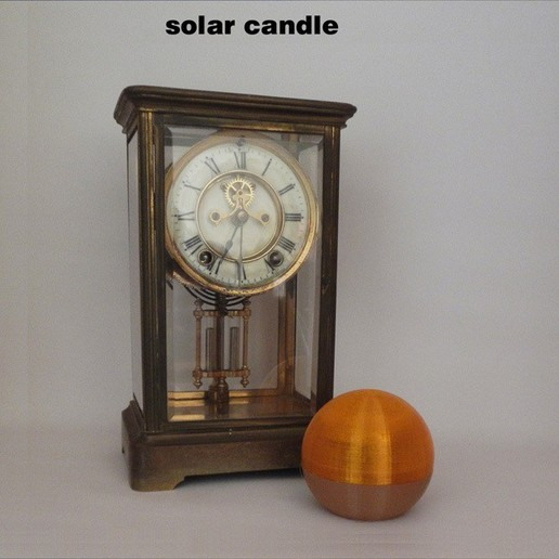 SolarCandle-2.jpg Download free STL file Solar Candle • 3D printable design, djgeenen