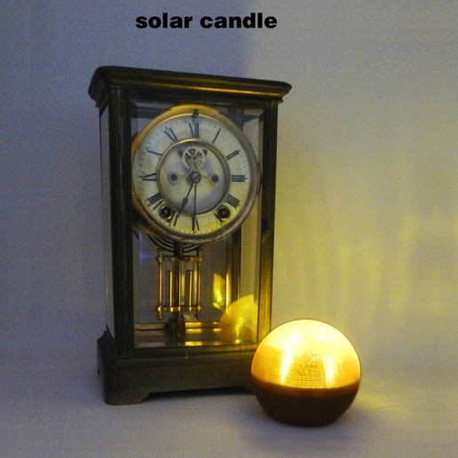 SolarCandle-1.jpg Download free STL file Solar Candle • 3D printable design, djgeenen