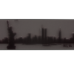 Download 3D printer designs new york skyline 3d  painting , Reza