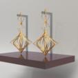 Download 3D printing files GAGA EARRING, Reza