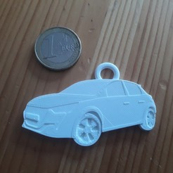 20200831_185813.jpg Télécharger fichier STL Porte Clé peugeot 208 ph2 • Modèle imprimable en 3D, ayrton