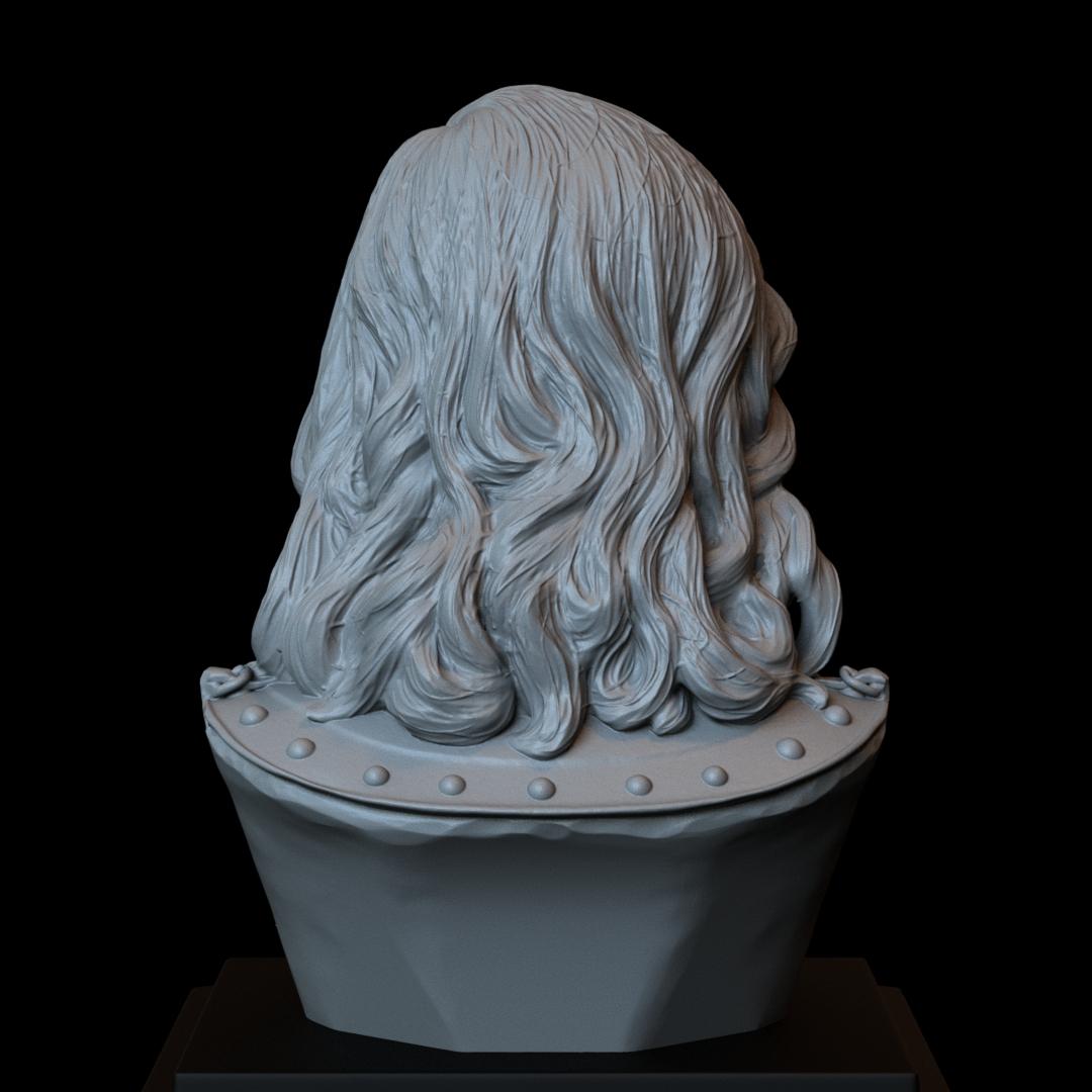Sandor05.RGB_color.jpg Download STL file Sandor Clegane aka The Hound from Game of Thrones - 3d print model, bust, portrait • 3D printing object, sidnaique