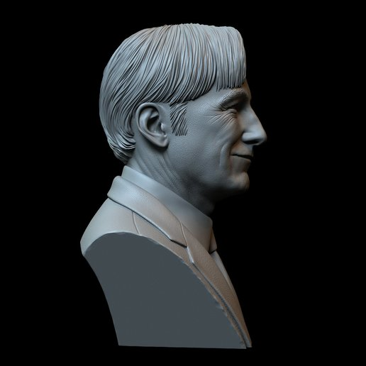 Saul04.jpg Download STL file Saul Goodman aka Jimmy McGill (Bob Odenkirk) from Breaking Bad and Better Call Saul • Model to 3D print, sidnaique