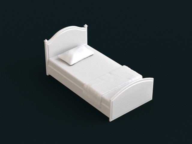 01.jpg Download STL file 1:10 Scale Model - Bed 03 • 3D print model, sidnaique