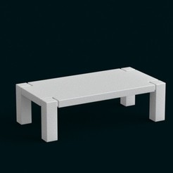 3D printing model 1:10 Scale Model - Table 01, sidnaique