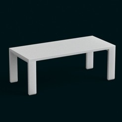 Modèle 3D 1:10 Scale Model - Table 04, sidnaique