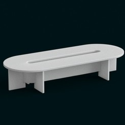3D printer models 1:10 Scale Model - Table 05, sidnaique