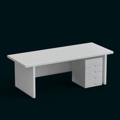 stl 1:10 Scale Model - Table 07, sidnaique
