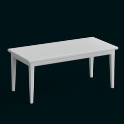 STL files 1:10 Scale Model - Table 08., sidnaique