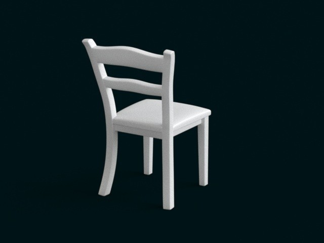 04.jpg Download STL file 1:10 Scale Model - Chair 01 • 3D printable object, sidnaique