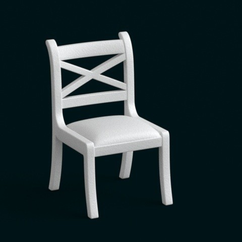 1:10 Scale Model - Chair 02 STL file, sidnaique