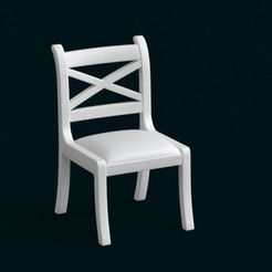 stl files 1:10 Scale Model - Chair 02, sidnaique