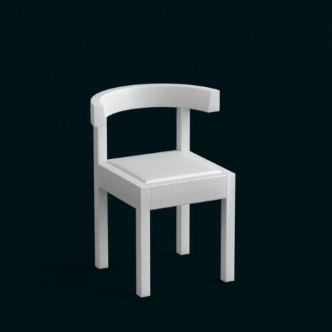 3D print model 1:10 Scale Model - Chair 04, sidnaique