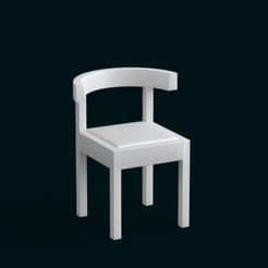 stl file 1:10 Scale Model - Chair 04, sidnaique