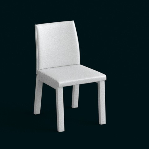 Download 3D printing models 1:10 Scale Model - Chair 05, sidnaique