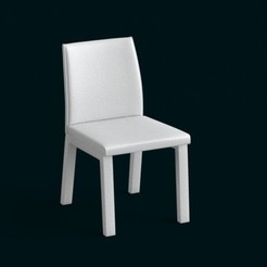 3d print files 1:10 Scale Model - Chair 05, sidnaique
