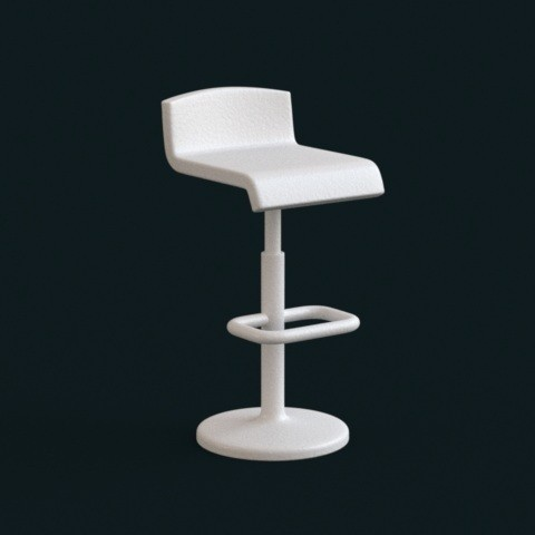 3d printer designs 1:10 Scale Model - BarChair 01, sidnaique