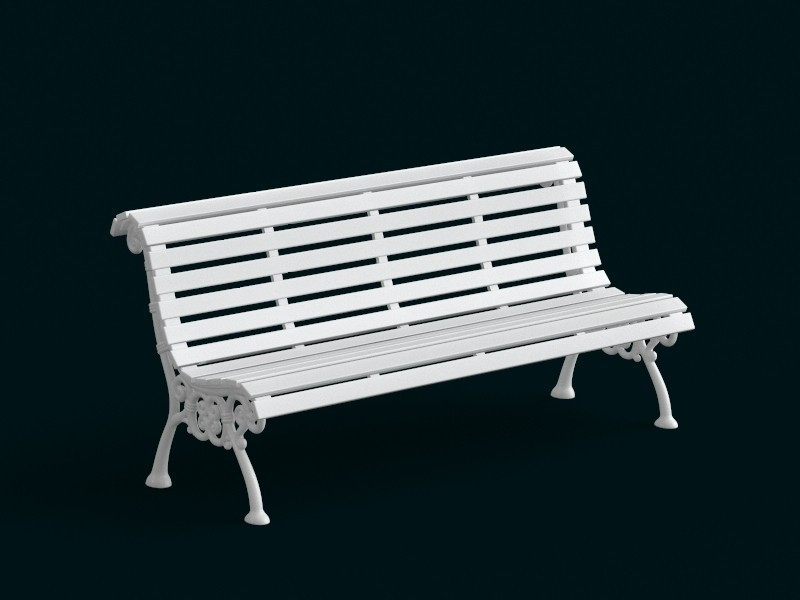 01.jpg Download STL file 1:10 Scale Model - Bench 02 • 3D printing template, sidnaique