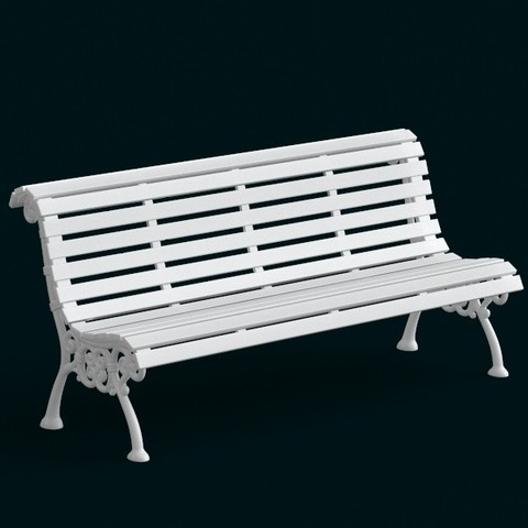 Download 3D printing files 1:10 Scale Model - Bench 02, sidnaique