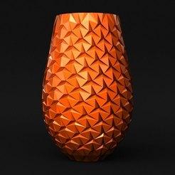 Download 3D printer designs [Vase Mode] Origami Vase, sidnaique