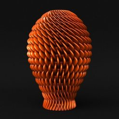 01.jpg Download STL file Salmon Vase [Vase Mode] • 3D print design, sidnaique