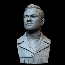 Download 3D model Leonardo DiCaprio from Once Upon a time in Hollywood, sidnaique