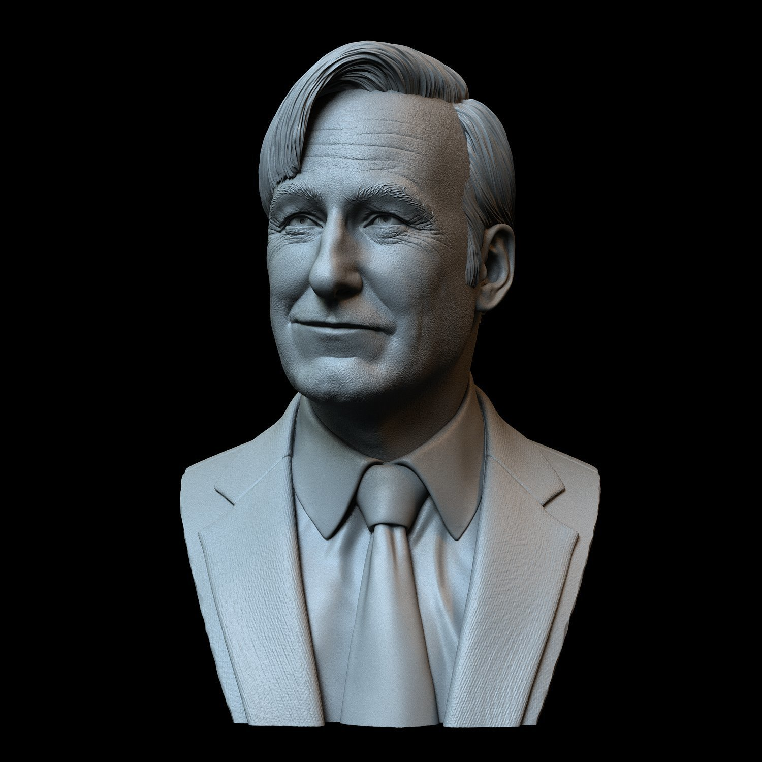 Saul03.jpg Download STL file Saul Goodman aka Jimmy McGill (Bob Odenkirk) from Breaking Bad and Better Call Saul • Model to 3D print, sidnaique